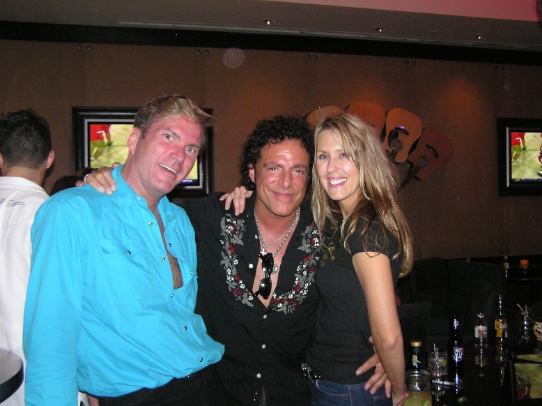 Candi, Neal Schon of Journey and I at Toby Keith's I Love This Bar & Grill