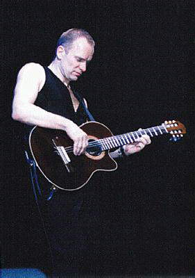 Sting playing Fragile